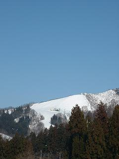 八海山麓スキー場も年末になってようやくオープンしました